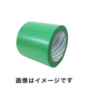 パイオラン養生用粘着テープ グリーン 100mmX25m 厚さ0.16mm【18巻】Y-09-GR|akibaoo