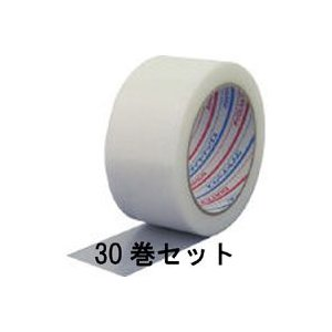 パイオラン養生用粘着テープ ホワイト 50mmX25m 厚さ0.16mm【30巻】Y-06-WH|akibaoo