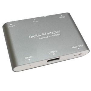 USB microUSB - HDMI VGAミラーリング同時出力&オーディオ出力|akibaoo