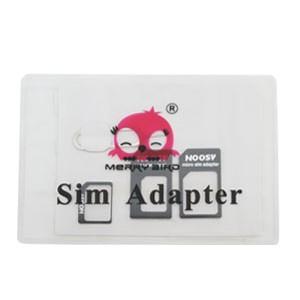 【メール便選択可】SIMカードホルダー&SIMカード変換アダプタ 3in1 SIMピン付き|akibaoo