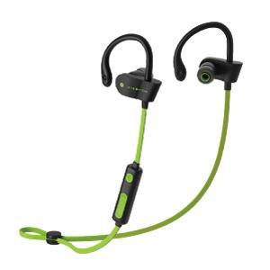 スポーツ用 Bluetoothイヤホン ブルートゥース BT グリーン|akibaoo