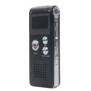 ICレコーダー ボイスレコーダー 8GB 小型 内蔵スピーカー 会議 証拠 電話録音 MP3 |akibaoo