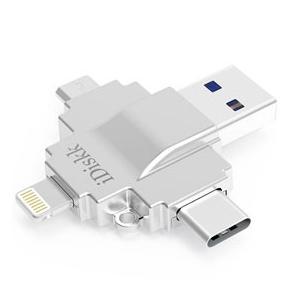 MFI認証 iPhone USB3.1 TypeC microUSB USB3.0対応 マルチメモリ 32GB 高速データ転送|akibaoo