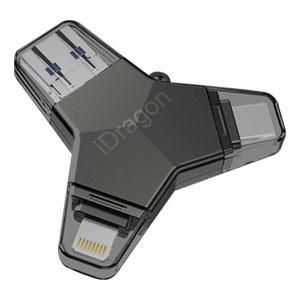 iPhone USB3.1 TypeC microUSB USB3.0対応 マルチメモリ 32GB 高速データ転送 容量不足に|akibaoo