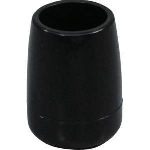 イス脚キャップ パイプ用 15mm ブラック BE-8-152