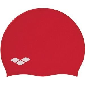 ARENA アリーナ SILICONE CAP レッド RED FREE FAR2901|akibaoo