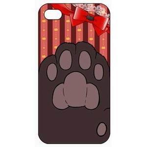 i-phone5用ケース 肉球B(チョコ)|akibaoo