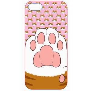 i-phone5用ケース 肉球C(顔ピンク)|akibaoo