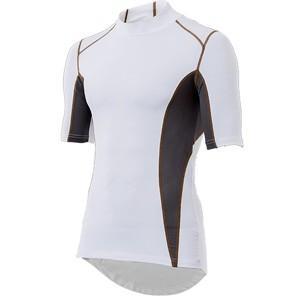 YKI-103 インナーシャツ 半袖LOW WH L YKI103WH/L|akibaoo