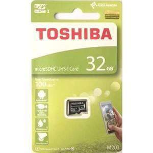 【メール便選択可】東芝 マイクロSDHC 32GB THN-M203K0320A4 UHS-I Class10 microsdカード