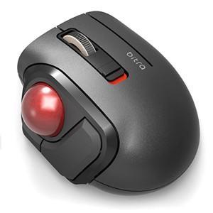 トラックボールマウス/小型/親指/5ボタン/静音/無線/ブラック M-MT1DRSBK|akibaoo