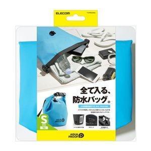 エレコム ELECOM 防水・防塵バッグ ドライバッグ S ブルー P-WPBD05BU akibaoo