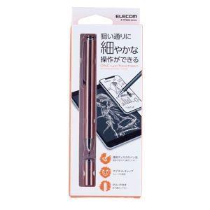 エレコム ELECOM スマートフォン・タブレット用 スタンダードディスクタッチペン ピンク P-TPD02PN|akibaoo