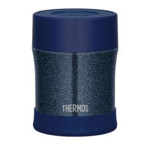 サーモス THERMOS 真空断熱スープジャー 0.5 Lハンマートンネイビー JBM-500WK ...