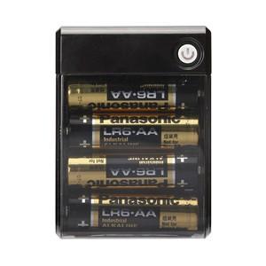 USBポート搭載 乾電池交換式充電器 出力1A PG-JUK1U1BK|akibaoo