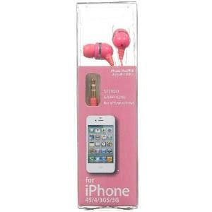 iPhone用ステレオイヤホン IES-IP206P|akibaoo