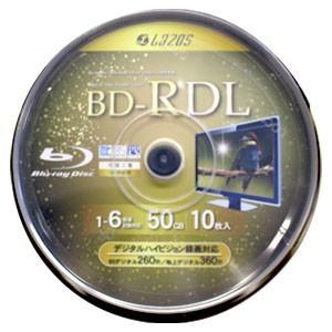 lazos L-BDDL10  BD-R DL 50GB 6速10枚