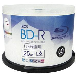 BD-R 25GB 1-6倍速対応50枚 L-B50P|akibaoo