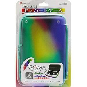 3DS LL用 「セミハードケース」GOMAブランド監修 (TYPE-B) ANS-H035-B