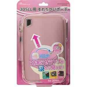 3DS LL用 「すれちがいポーチ」 (ピンク) ANS-3D048PK