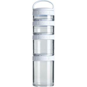 BLENDER BOTTLE ブレンダーボトル ゴースタック スターター4パック [カラー:ホワイト] #BBGSS4P-WT Blender Bottle GoStak Starter 4Packの商品画像|ナビ