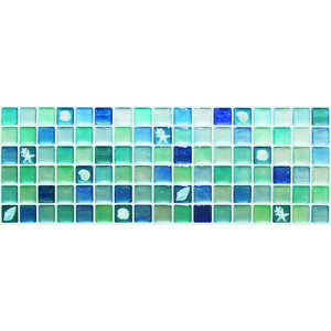 Dream Sticker タイルシール BLUE 376mm×134mm×1mm TS-2046-ALT-4 3692212046|akibaoo