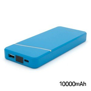 チーロ モバイルバッテリー 10000mAh CHE-103-BL with Power Delivery 18W ブルー cheero|akibaoo