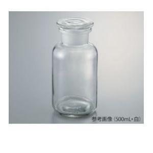 広口試薬瓶 白 100mL 3-9175-02 632414104100 akibaoo