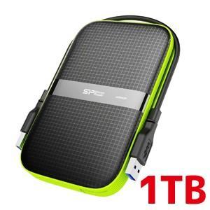 2.5インチ ポータブルHDD 1TB USB3.0対応 IPX4 防水 耐衝撃 キズに強い 3年保証 SP010TBPHDA60S3K|akibaoo