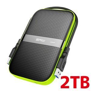 2.5インチ ポータブルHDD 2TB USB3.0対応 IPX4 防水 耐衝撃 キズに強い 3年保証 SP020TBPHDA60S3K|akibaoo