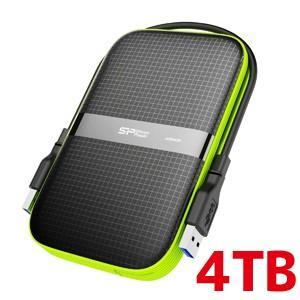 2.5インチ ポータブルHDD 4TB USB3.0対応 IPX4 防水 耐衝撃 キズに強い 3年保証 SP040TBPHDA60S3K|akibaoo