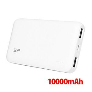 モバイルバッテリー 10000mAh USB2Port/2.1A・1A出力/INPUT:2A/重量220g ホワイト SP10KMAPBK100P0WJE|akibaoo