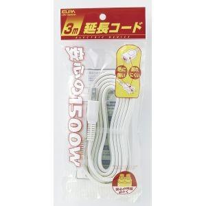 EDLP延長コード 3m LPE-103N(W) akibaoo