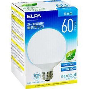 電球形蛍光灯G形 60W形 EFG15ED/12-G061H|akibaoo