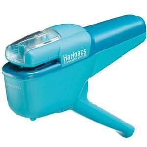 針なしステープラー ハリナックス ハンディ10枚(ライトブルー)SLN-MSH110LB akibaoo