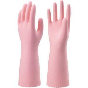 ナイスハンドエクストラ 薄手 Mサイズ ピンク NHEXU-MP 家庭用手袋ニトリルゴム