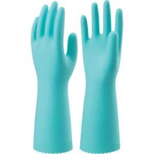 ナイスハンドエクストラ 薄手 Lサイズ グリーン NHEXU-LG 家庭用手袋ニトリルゴム