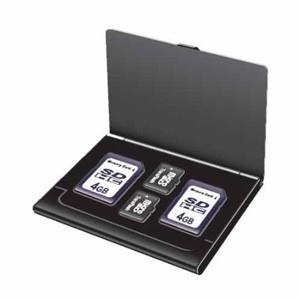 Digio2 SD・microSDカードケース(丈夫なアルミ素材) ブラック MCC-1000BK|akibaoo