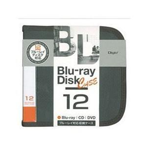 ナカバヤシ BD-080-12BK ブルーレイ CD DVDディスクケース 12枚入り ブラック|akibaoo