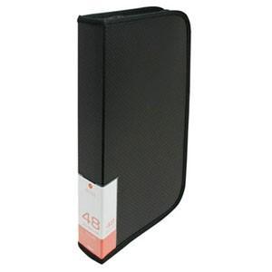 ナカバヤシ BD-080-48BK ブルーレイ CD DVDディスクケース 48枚入り ブラック|akibaoo