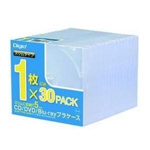 ナカバヤシ CD-084-30 CD DVDプラケース スリム30パック|akibaoo
