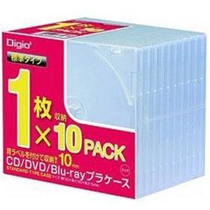 ナカバヤシ CD-085-10 CD DVDプラケース 10パック|akibaoo