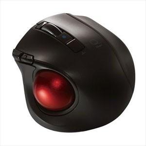 Digio2 Q 静音Bluetoothトラックボールマウス 5ボタン ブラック MUS-TBLF134BK|akibaoo