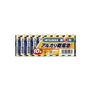 【メール便選択可】三菱 アルカリ乾電池 単3形 10本パック LR6N/10S|akibaoo