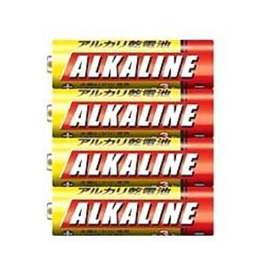 【メール便選択可】アルカリ乾電池 単4形 4本パック LR03N/4S|akibaoo