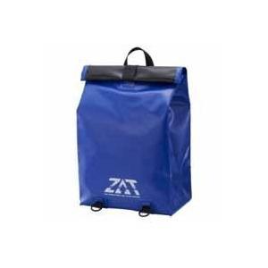 ZAT 防水素材 無縫製バック リュックタイプ ブルー G300-6416