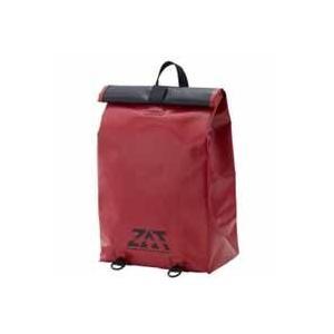 ZAT 防水素材 無縫製バック リュックタイプ レッド G300-6423