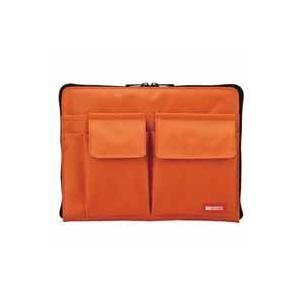 バッグインバッグ A5サイズ 橙 A-7553-4 akibaoo