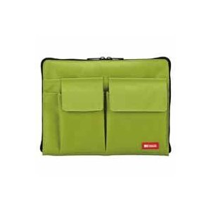 バッグインバッグ A5サイズ 黄緑 A-7553-6 akibaoo