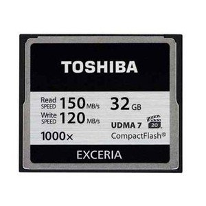 【CF コンパクトフラッシュ 32GB】CF-032GTR8A EXCERIA 1000倍速 R 150MB/s /W 120MB/s akibaoo